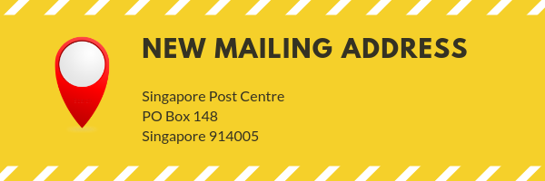 New mailing address